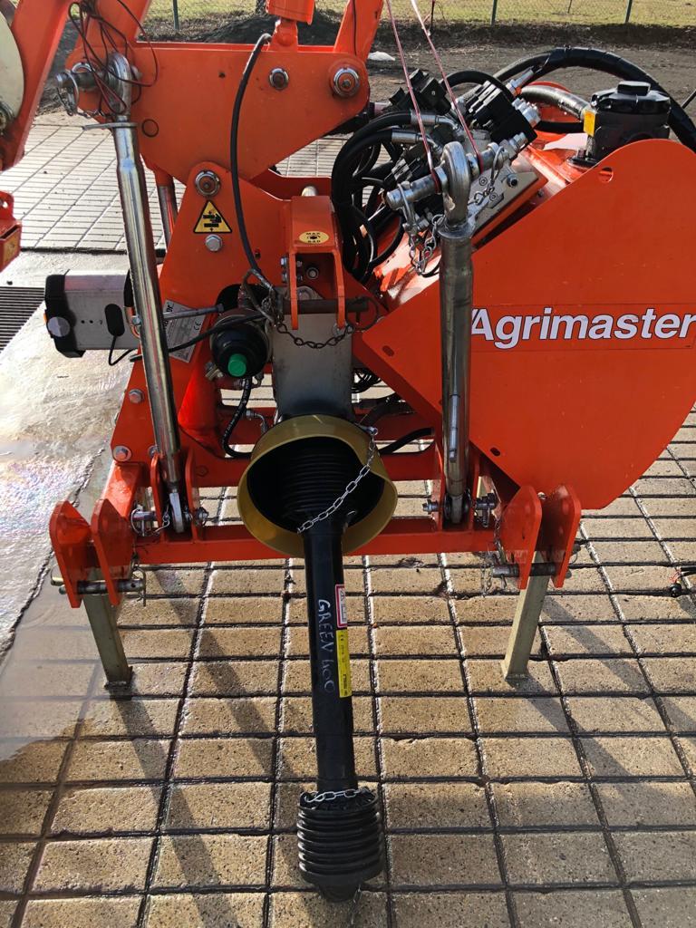 Agrimaster Green Shark 400 Ausleger Auslegemulcher
