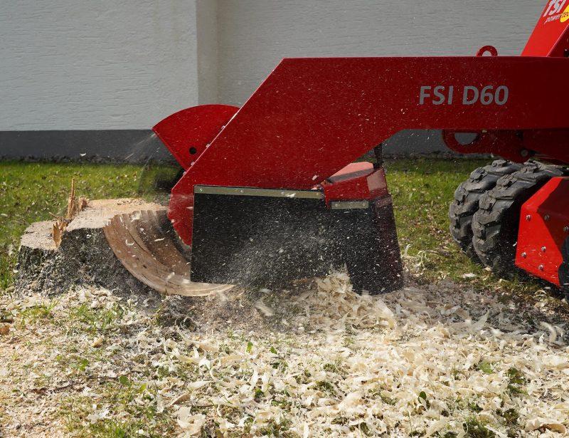 FSI Stubbenfraese Baumstumpffraese D60