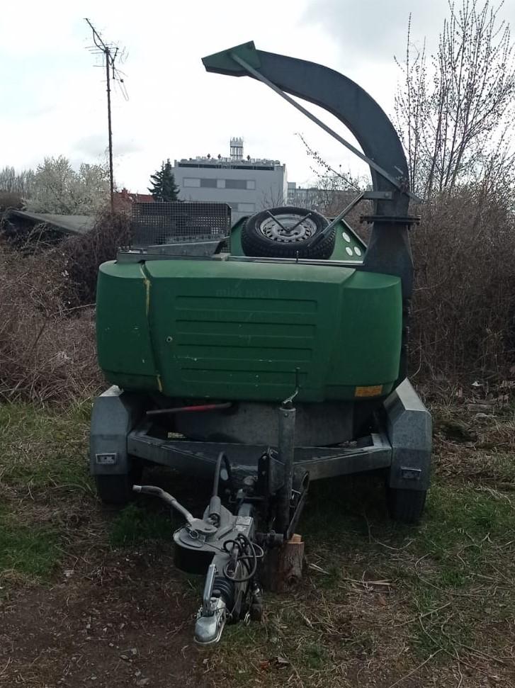 TS Holzhacker Holzschredder 350MT