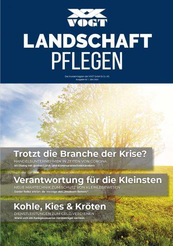 VOGT Magazin - Landschaft pflegen 2021