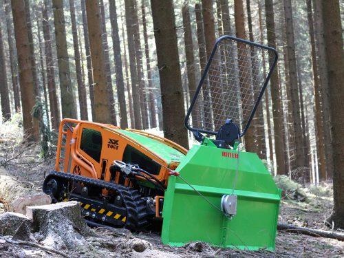 Ritter Seilwinde für LV500 4 Tonnen 3-P-Adapter