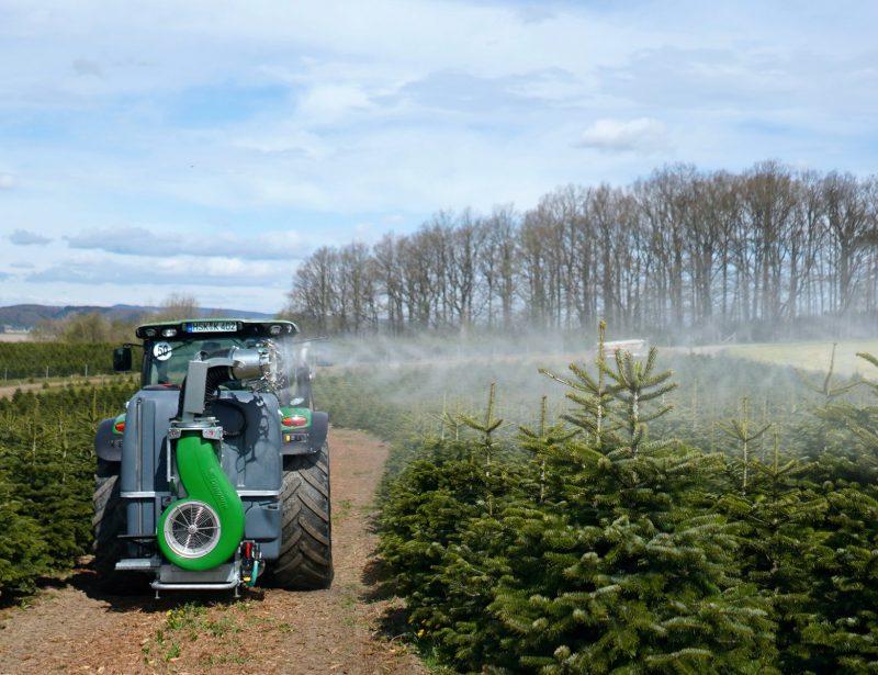 Dragone AZ2 Spritze Gebläse für Weichnachtsbaum Traktor