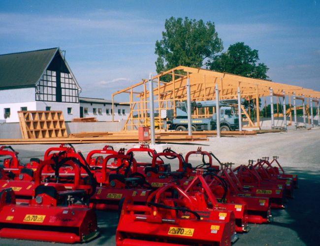 Neubau Ausstellungshalle Felbecke 2006