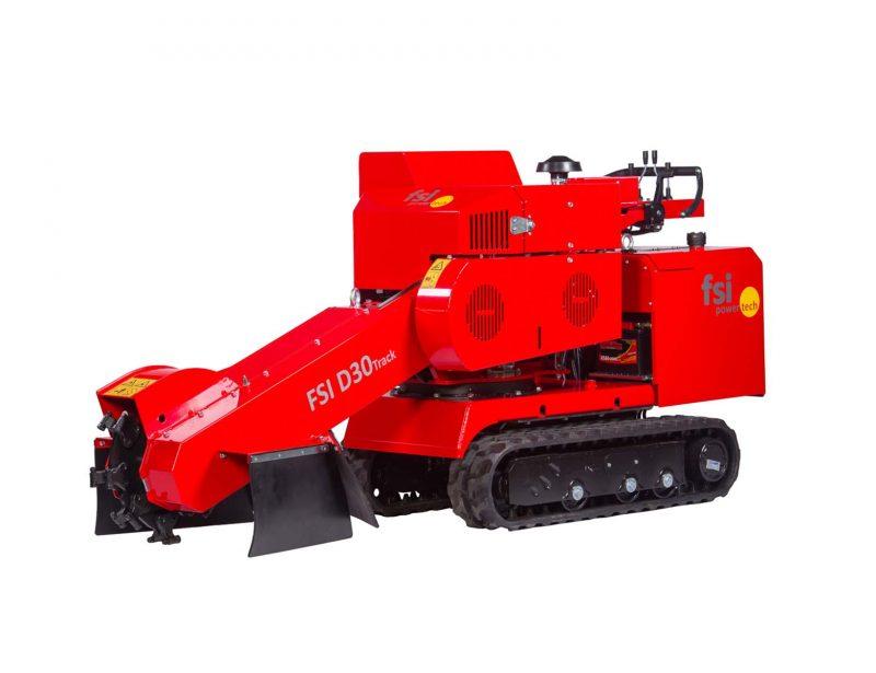 FSI Stubbenfraese Baumstumpffraese Kettenfahrwerk D30 TRACK