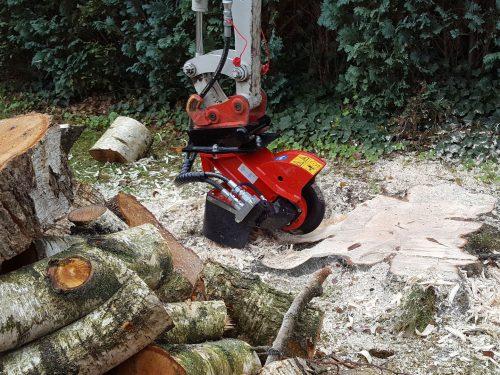 Stubbenfraese Baumstumpffraese für Bagger FSI H20