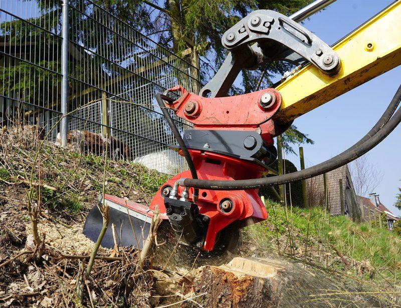 Stubbenfraese Baumstumpffraese Bagger H40