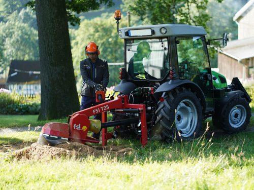 Stubbenfräse Baumstumpffräse für Traktor FSI T25