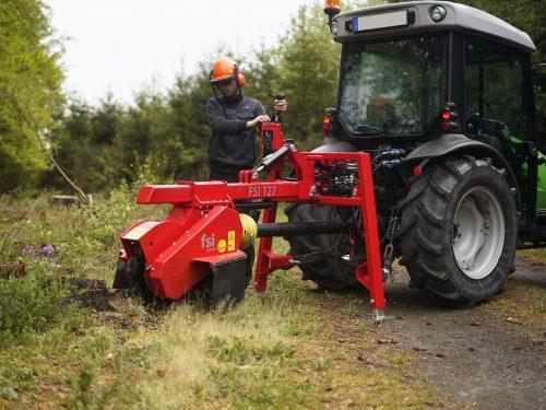 Stubbenfräse Baumstumpffräse für Traktor T27